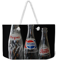 Pepsi Cola Bottles Weekender Tote Bag
