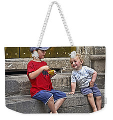 Per Favore Weekender Tote Bag by Keith Armstrong