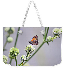 Perched Butterfly No. 255-1 Weekender Tote Bag by Sandy Taylor