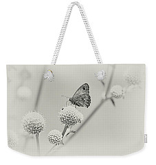 Perched Butterfly No. 255-2 Weekender Tote Bag