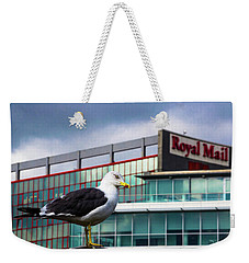 Perched Gull Weekender Tote Bag