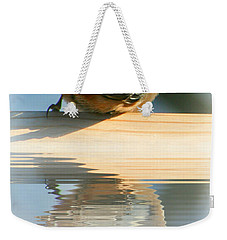 Perched Over Water Weekender Tote Bag