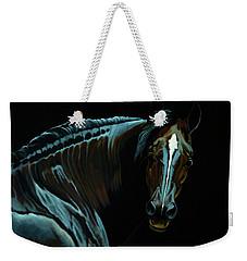 Percheron Mare In The Moonlight Weekender Tote Bag