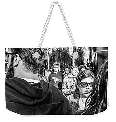 Weekender Tote Bag featuring the photograph Percolate by David Sutton