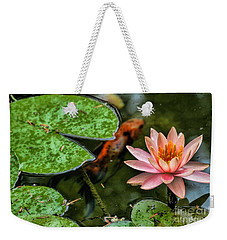 Perfect Beauty And Koi Companion Weekender Tote Bag