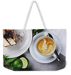 Perfect Breakfast Weekender Tote Bag by Happy Home Artistry