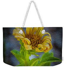 Perfect Curls In Gold Weekender Tote Bag