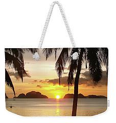 Perfect Evening - Vertical Weekender Tote Bag