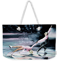 Weekender Tote Bag featuring the painting Perfect Harmony by Hanne Lore Koehler