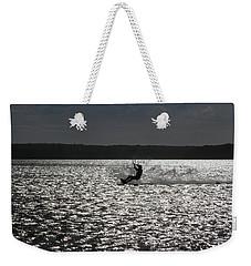 Weekender Tote Bag featuring the photograph Perfect Light At Lake Wollumboola by Miroslava Jurcik