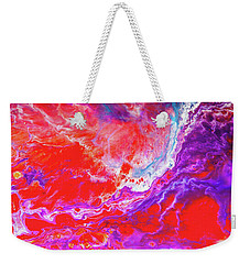 Perfect Love Storm - Colorful Abstract Painting Weekender Tote Bag