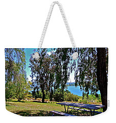 Perfect Picnic Place Weekender Tote Bag