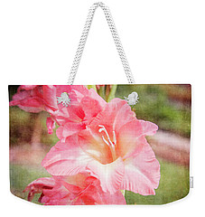 Perfect Pink Canna Lily Weekender Tote Bag by Toni Hopper