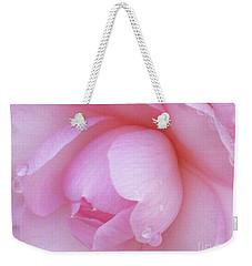 Perfect Pink Weekender Tote Bag by Kim Tran