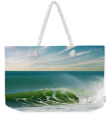 Perfect Wave Weekender Tote Bag by Carlos Caetano