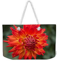 Perfectly Dahlia Weekender Tote Bag
