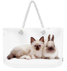 Perfectly Paired Pals Weekender Tote Bag