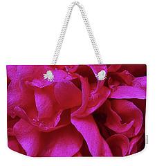 Perfectly Pink Peony Petals Weekender Tote Bag