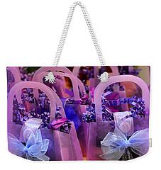 Perfectly Purple Presents Weekender Tote Bag