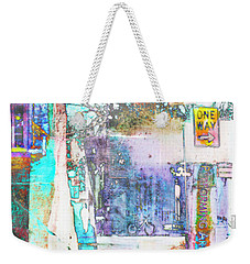 Weekender Tote Bag featuring the photograph Performance Arts by Susan Stone