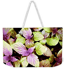 Perilla Beauty Weekender Tote Bag by Winsome Gunning