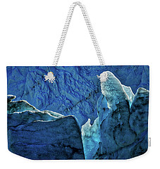 Perito Moreno Glacier Details #2 - Patagonia Weekender Tote Bag by Stuart Litoff
