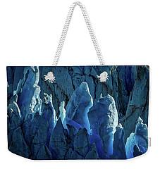 Perito Moreno Glacier Details #3 - Patagonia Weekender Tote Bag