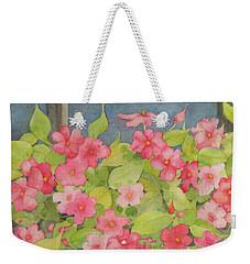 Perky Weekender Tote Bag by Mary Ellen Mueller Legault