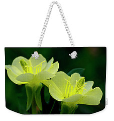 Perky Primroses Weekender Tote Bag by Shelly Gunderson