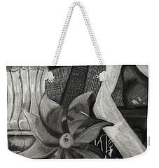 Perpeptual Pinwheel Weekender Tote Bag