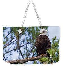 Perplexed Eagle Weekender Tote Bag