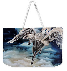 Perseus The Pegasus Weekender Tote Bag by Dianna Lewis