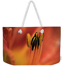 Persimmon Lilly Weekender Tote Bag