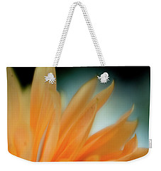 Weekender Tote Bag featuring the photograph Petal Disaray by Greg Nyquist
