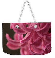 Weekender Tote Bag featuring the photograph Petal Pointing  by Connie Handscomb