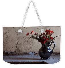 Petals And Peeling Paint - Preston Castle Weekender Tote Bag