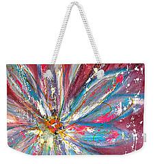 Petals Exploding Weekender Tote Bag