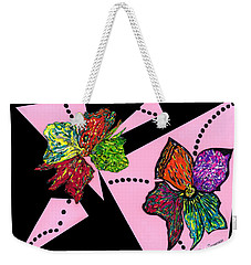 Petals In Motion Weekender Tote Bag