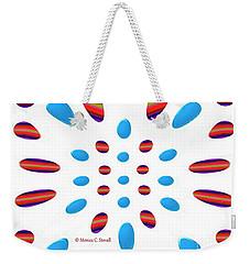 Petals N Dots P5 Weekender Tote Bag