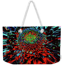 Petals Of Fire And Ice Weekender Tote Bag