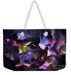 Petals Of Hydrangea Weekender Tote Bag