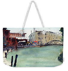 Petaluma Turning Basin Weekender Tote Bag by Tom Simmons