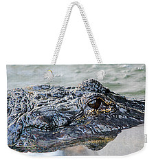 Pete The Alligator Weekender Tote Bag by Kenneth Albin