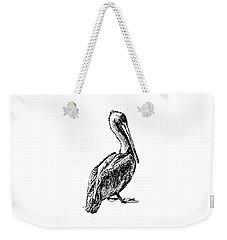 Pete The Pelican Weekender Tote Bag