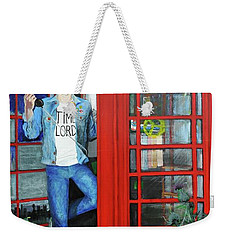 Peter Capaldi Dr Who Putting You Through Weekender Tote Bag