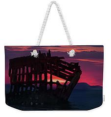 Peter Iredale Shipwreck Weekender Tote Bag