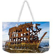 Peter Iredale Shipwreck - Oregon Coast Weekender Tote Bag