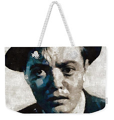 Peter Lorre Hollywood Actor Weekender Tote Bag by Mary Bassett