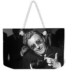 Peter Sellers As Dr. Strangelove Number One Color Added 2016 Weekender Tote Bag