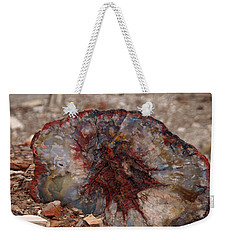 Weekender Tote Bag featuring the photograph Peterified Jewel by Melissa Peterson
